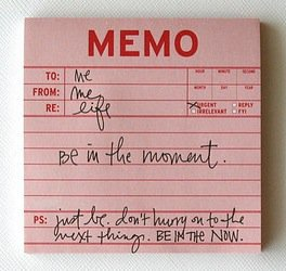 memo-beinthemoment